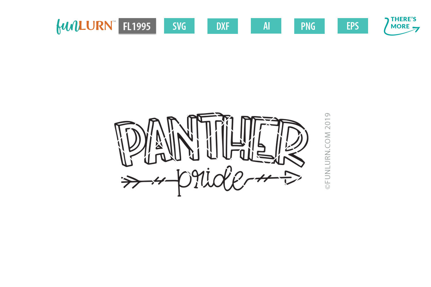 Panther Pride Team SVG Cut File example image 2