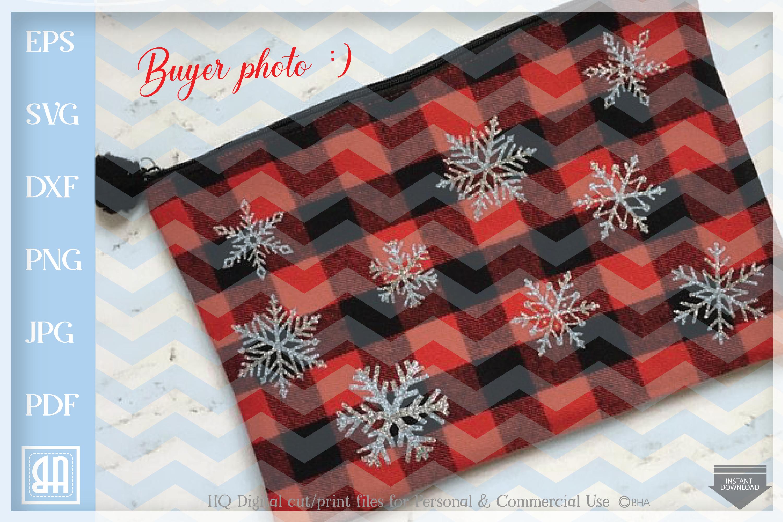 Snowflakes Svg - Snowflake SVG - Christmas bundle SVG example image 3