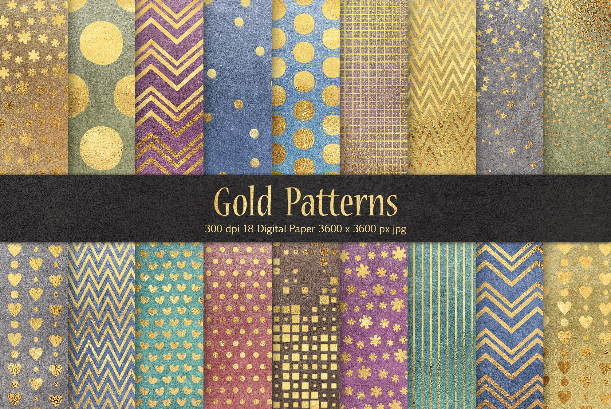 Gold Patterns example image 1