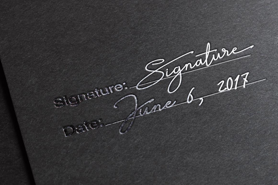Signature TypeFace example image 5