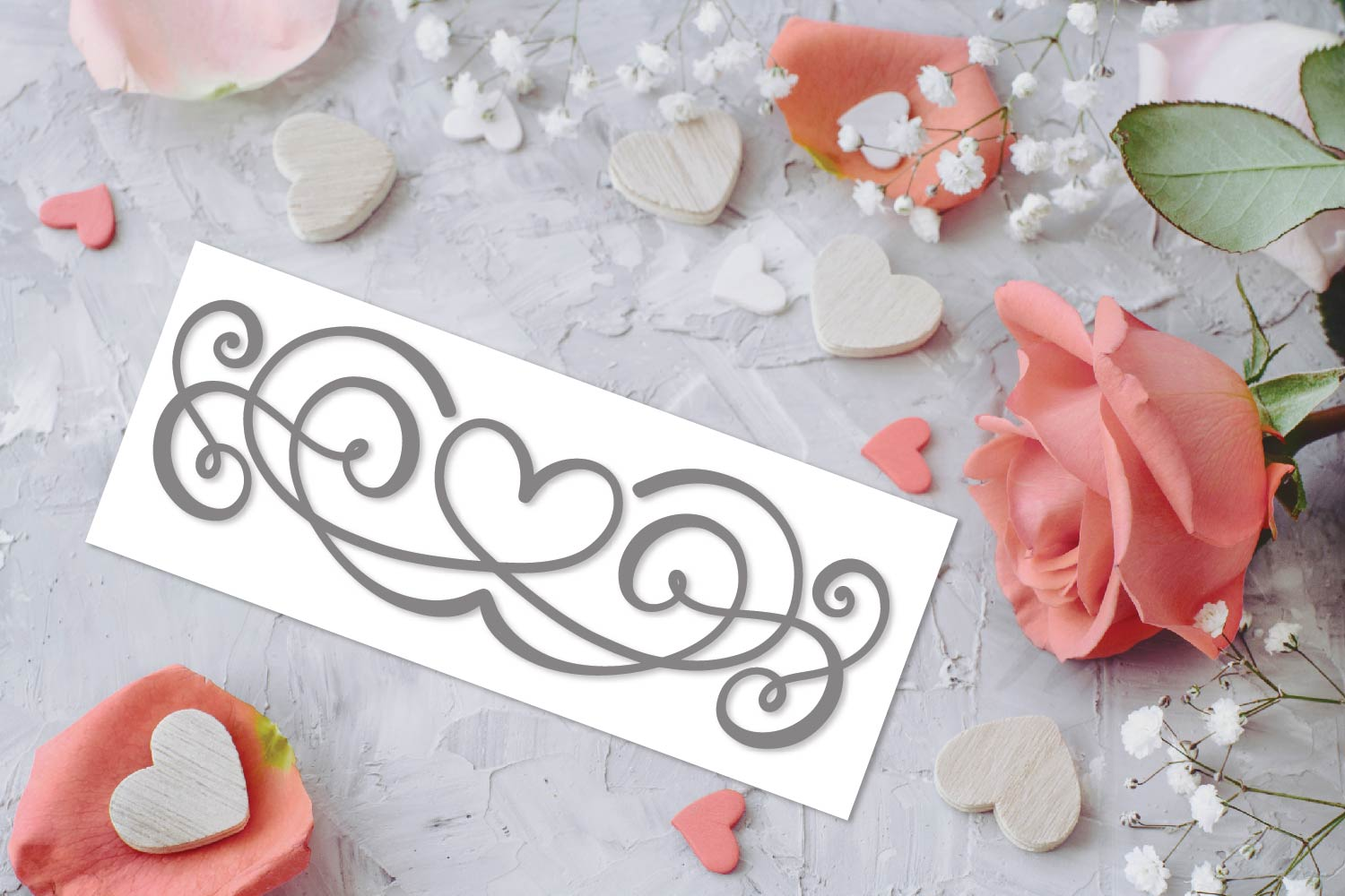 Flourish Font - 60 Hand Drawn Ornament Swooshes example image 10
