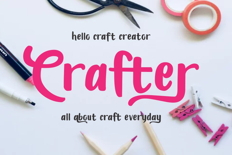 Candylove - Playful hand lettering brush font example image 5