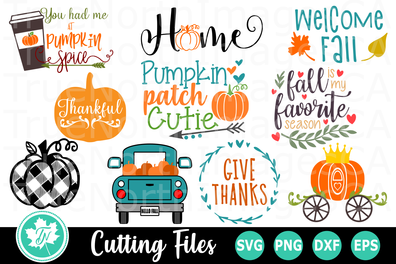 Mega Fall Bundle - SVG Cut Files example image 3