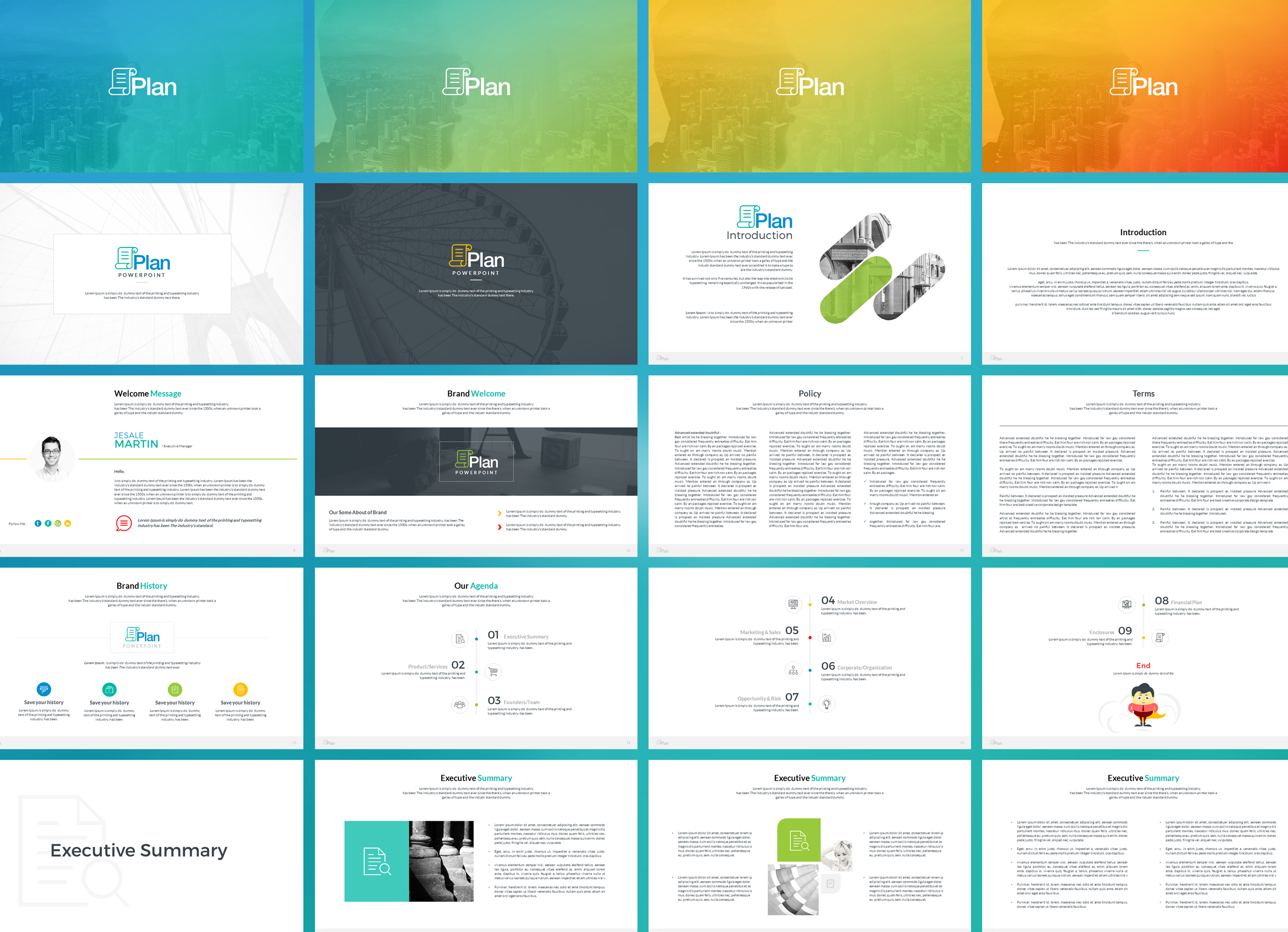 Business Plan Keynote Presentation Template example image 2
