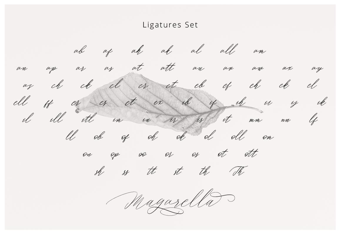 Magarella Script example image 12