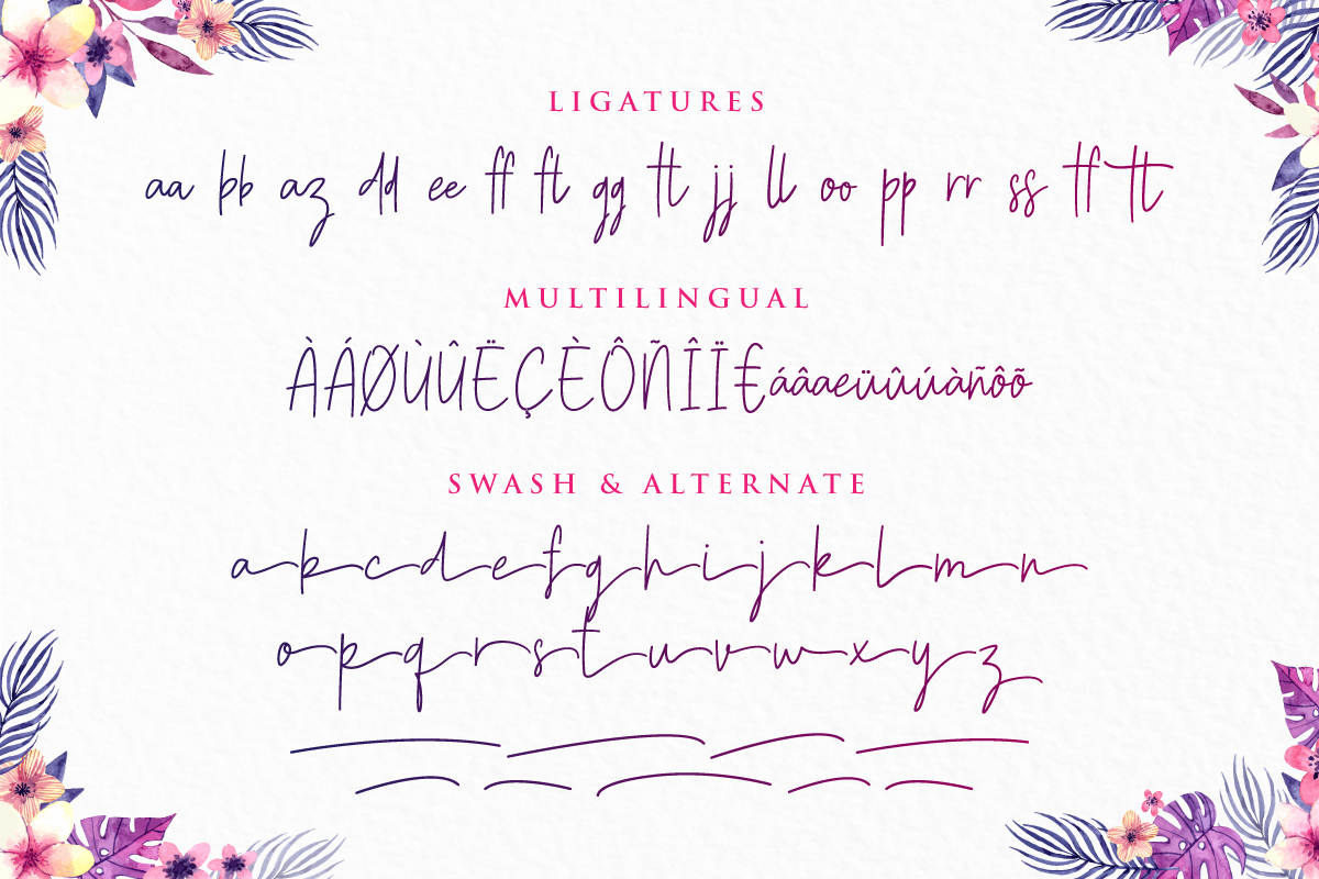 Gasttula - 3 Font example image 4