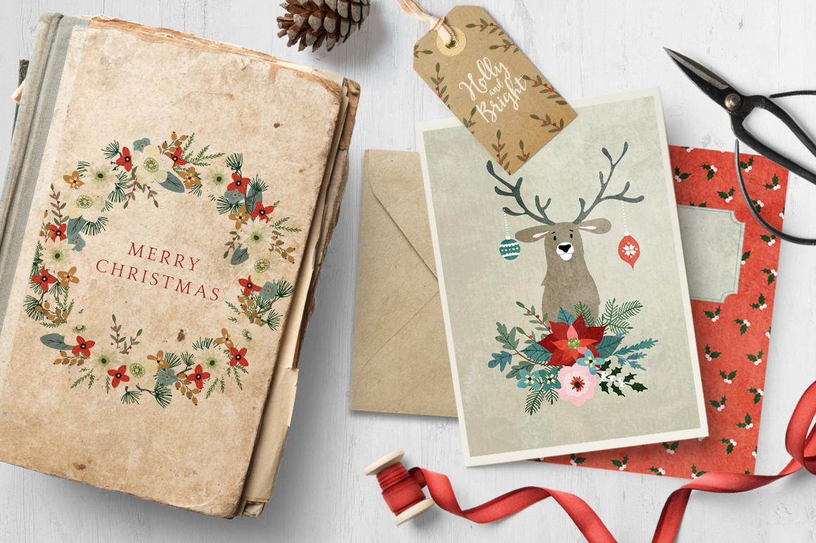 Merry Christmas set, 166 elements example image 2