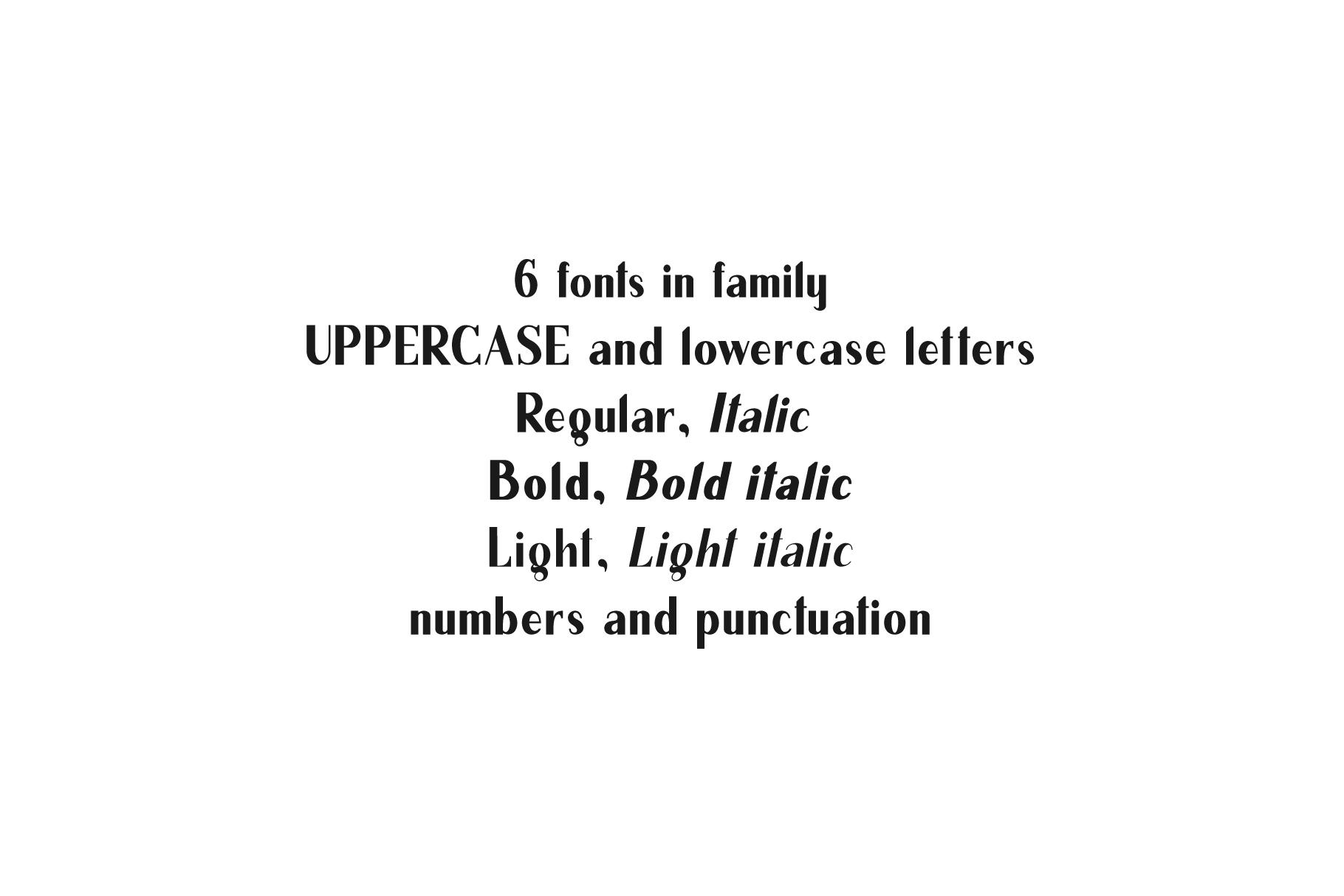 California. Sans serif family. example image 6