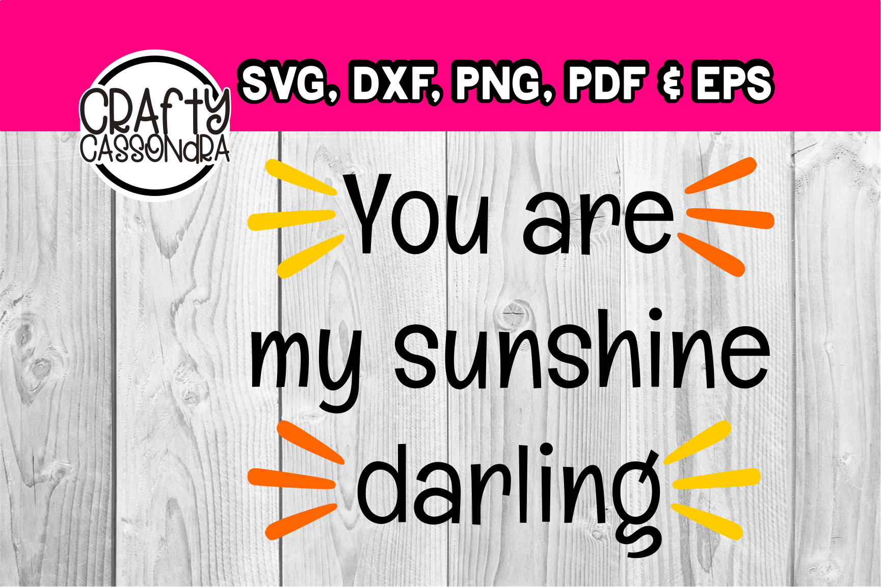 You are my sunshine darling example image 1