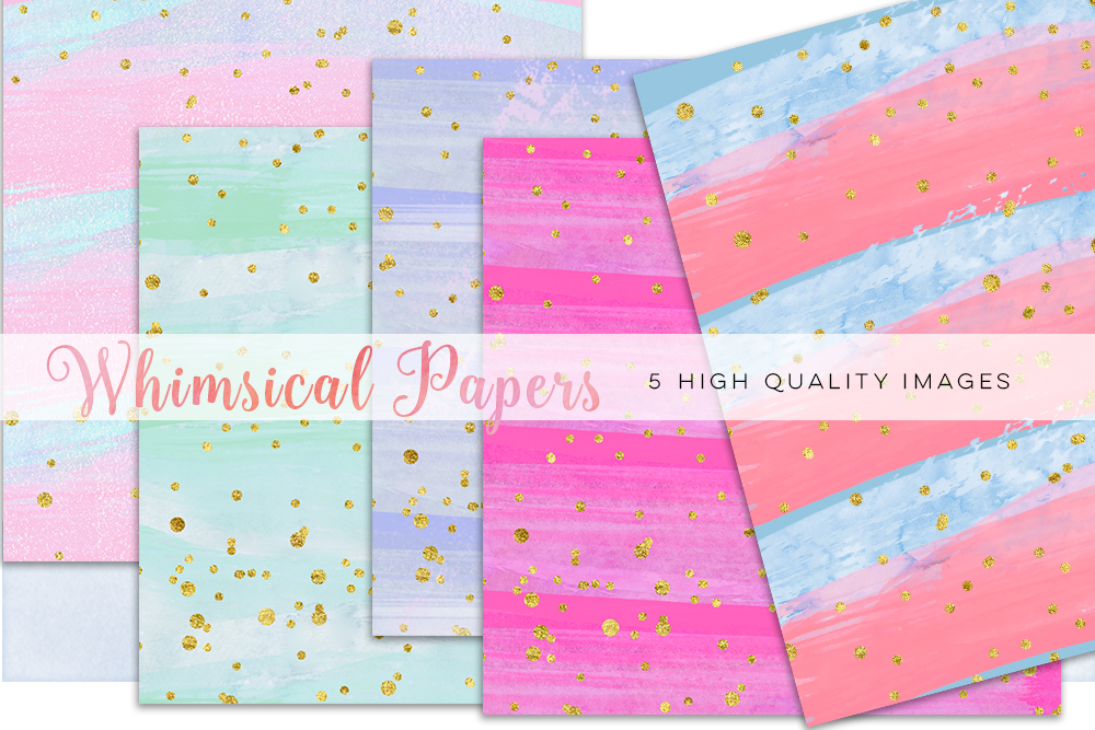 colorful watercolor paper, Watercolor Rainbow Clipart, Rainbow Digital Paper, Rainbow mint clipart, Watercolor Digital Paper Rainbow Colors example image 2