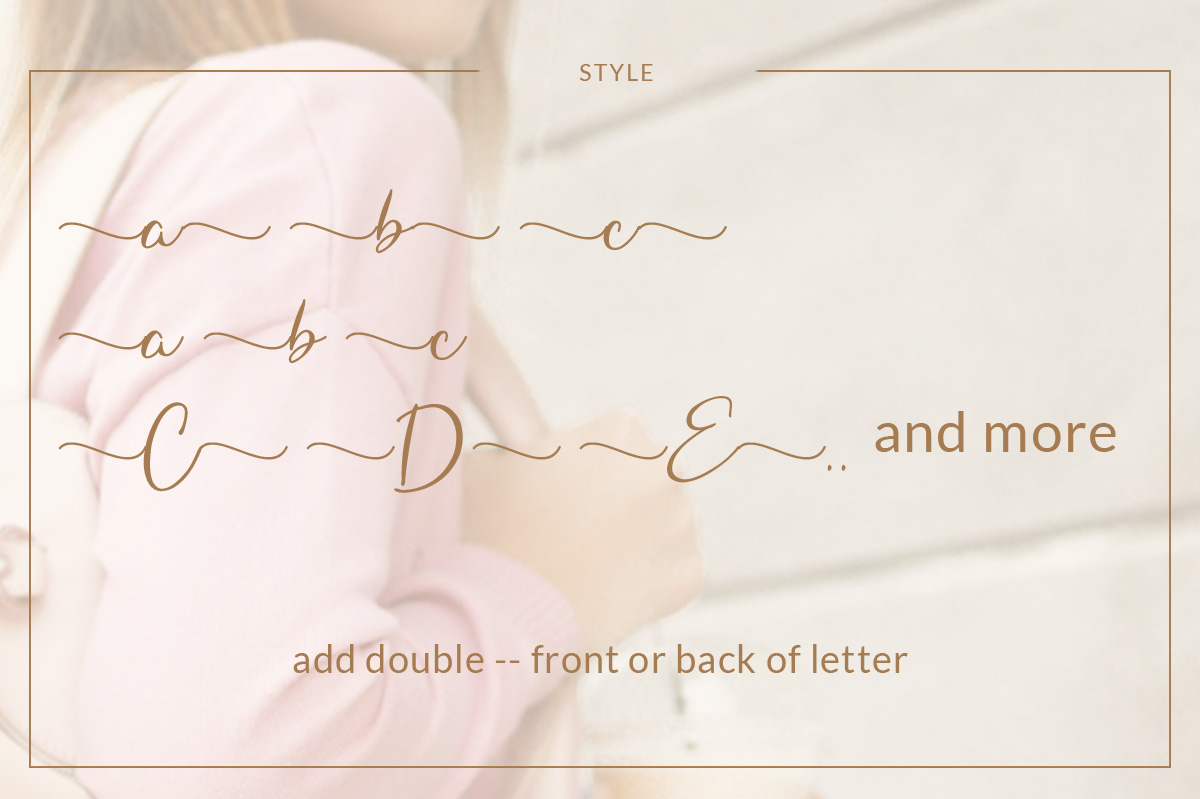 Hungaria - Sophisticated Script Font example image 10