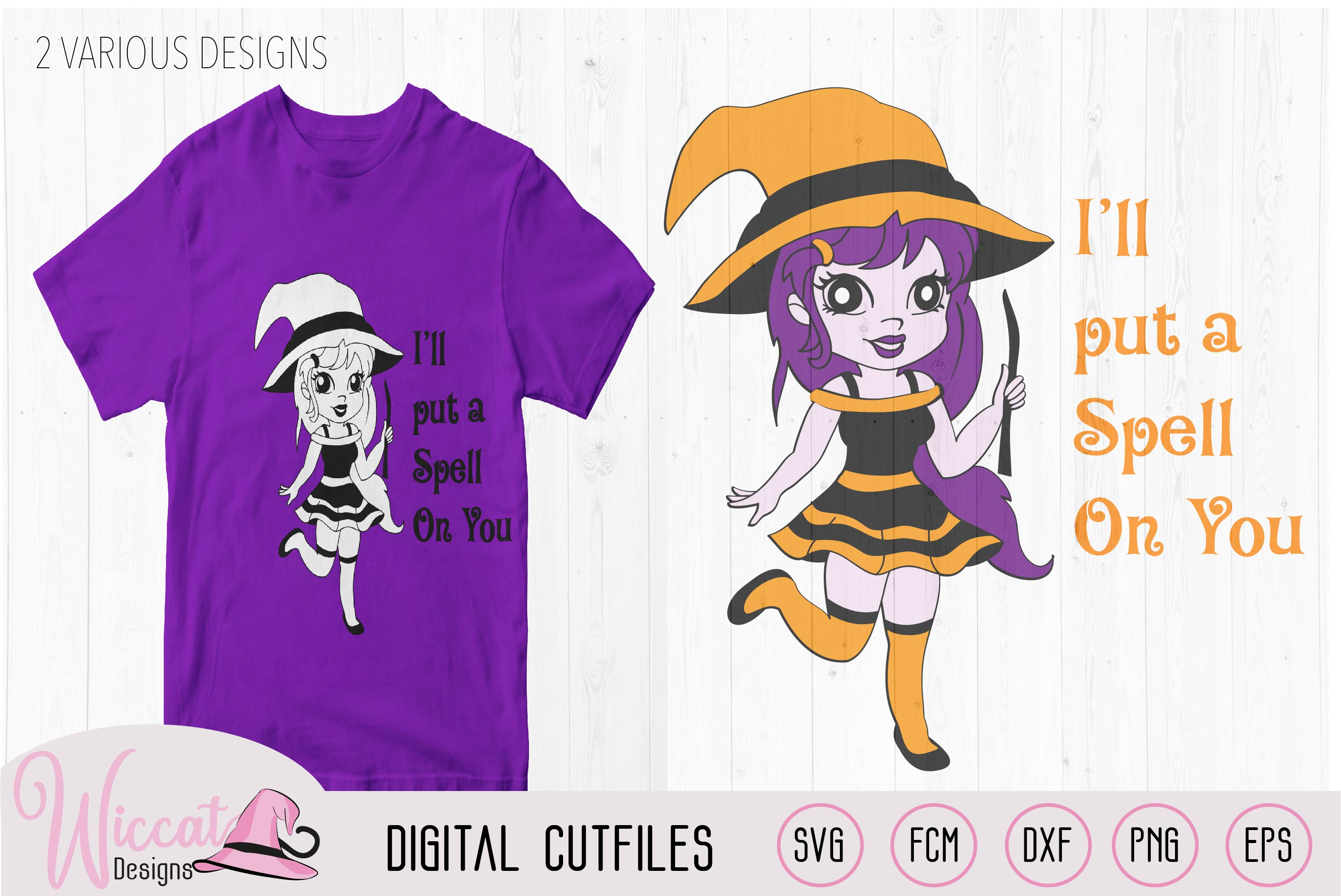 Little Halloween Witch, Halloween quote svg, example image 3