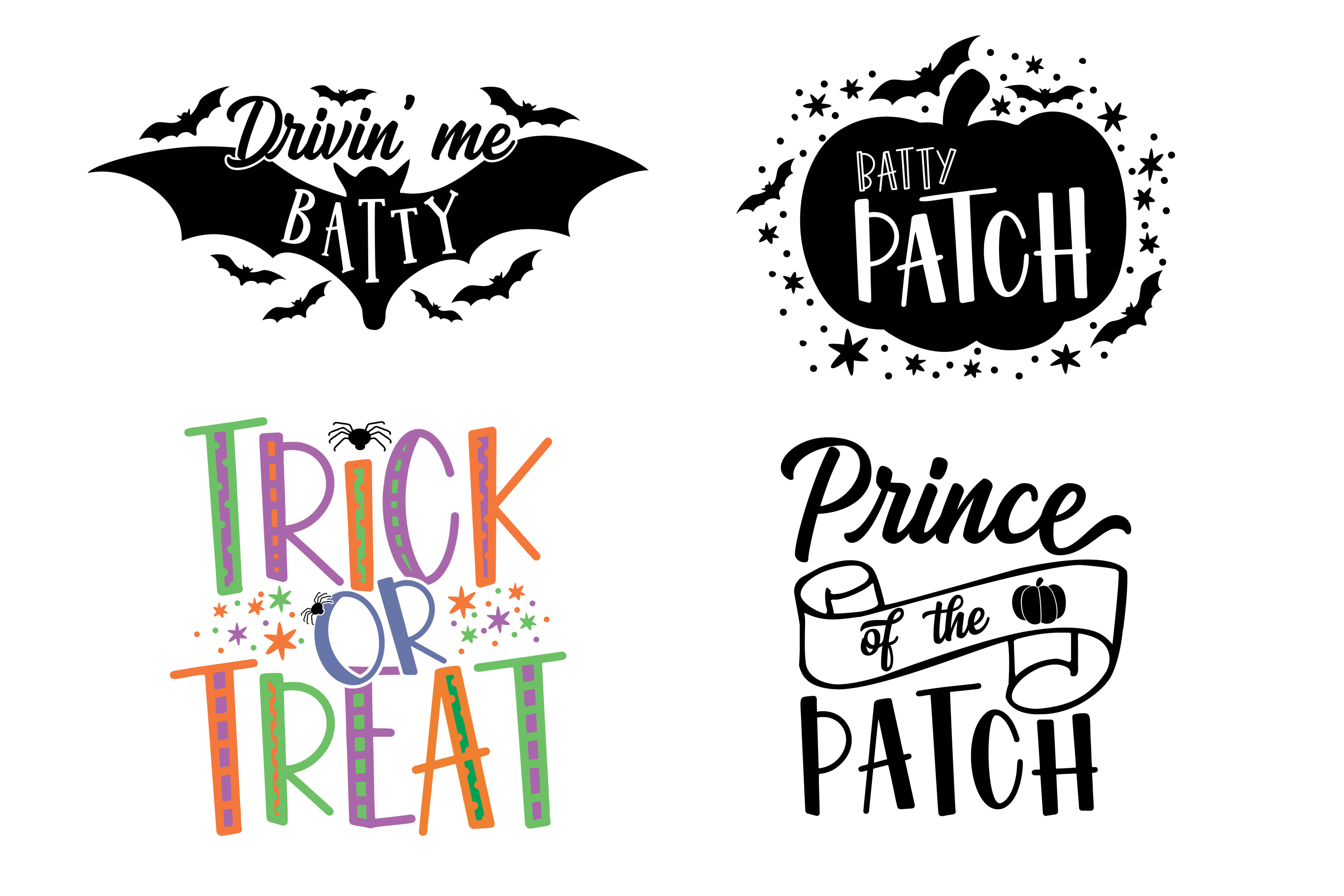 Halloween Bundle SVG DXF EPS PNG example image 2
