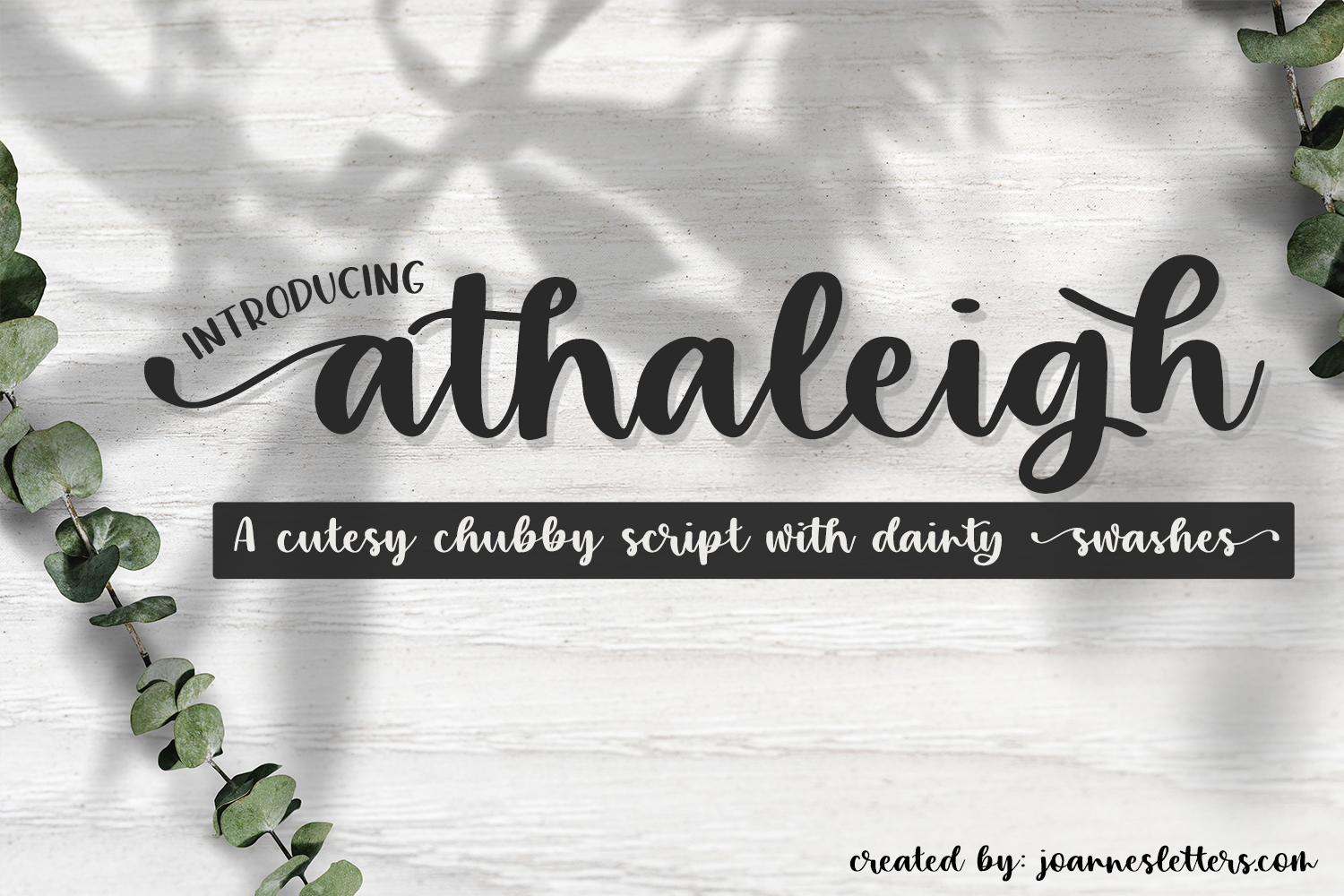 Athaleigh Script| A cutesy chubby script with dainty swashes example image 1