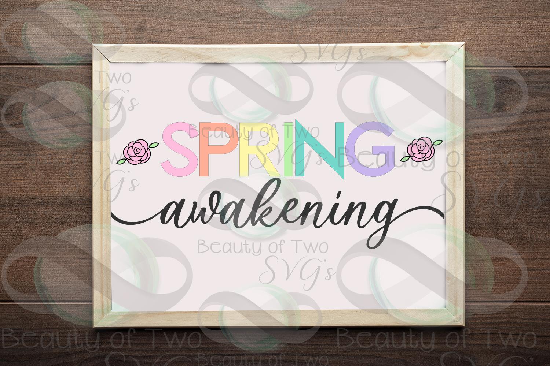Spring Awakening svg, Spring Flowers svg, Spring svg example image 1