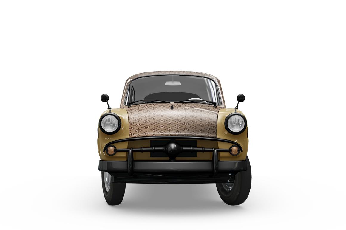 Vintage Car Mockup example image 9