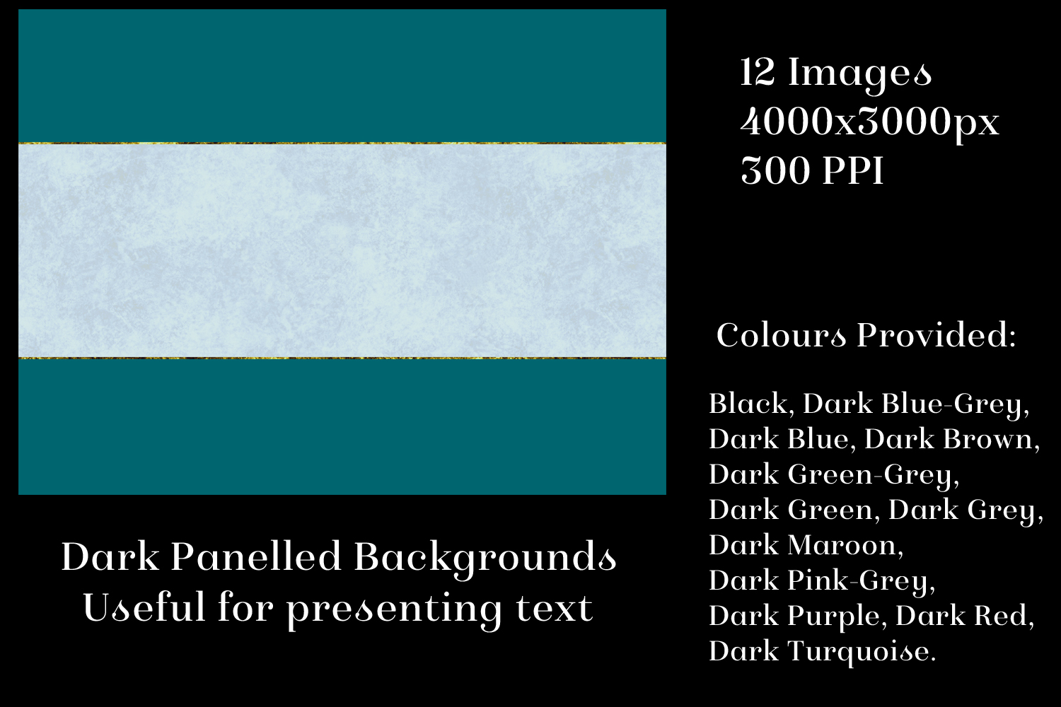 Dark Panelled Backgrounds - 12 Image Textures Set example image 2