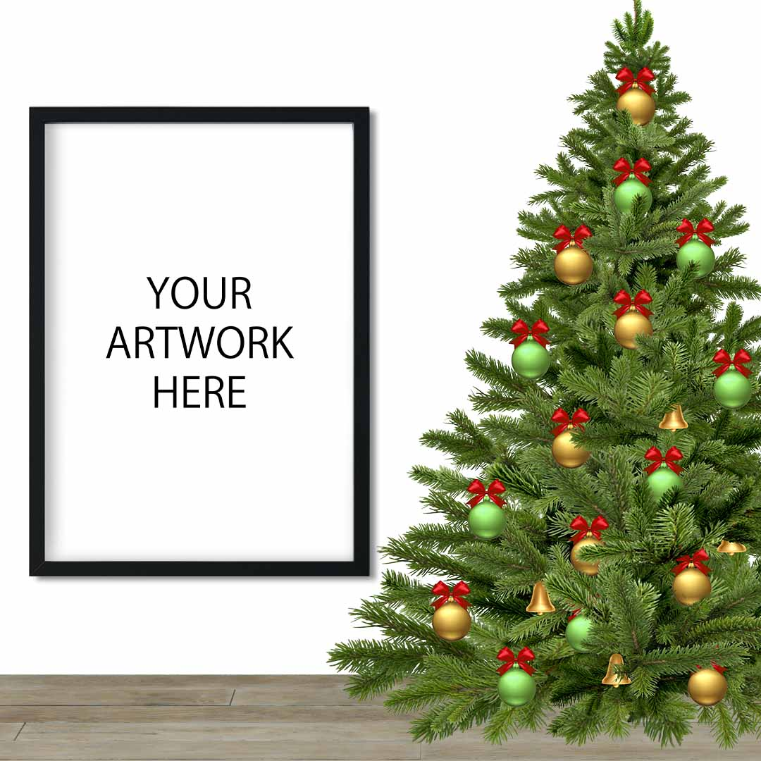 Christmas Mockup Frame for Etsy / Instagram example image 3