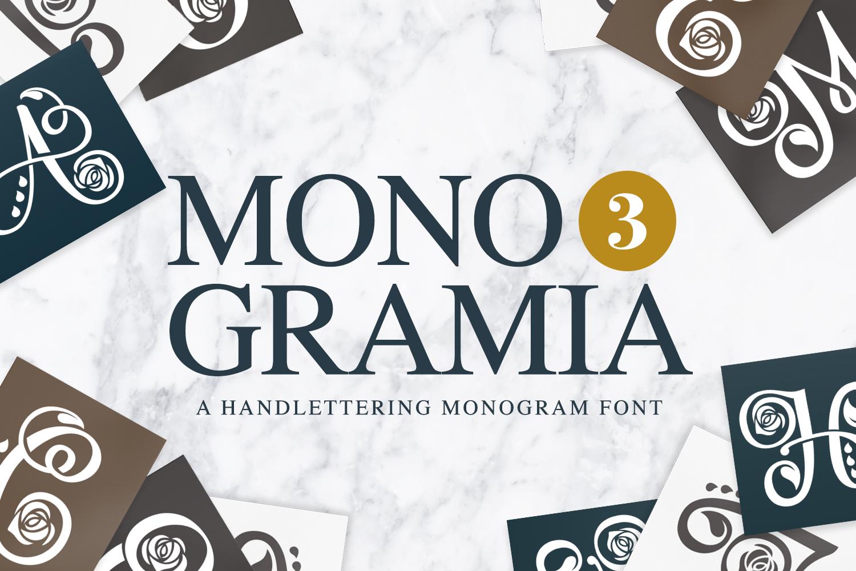 Monogramia 3 example image 1