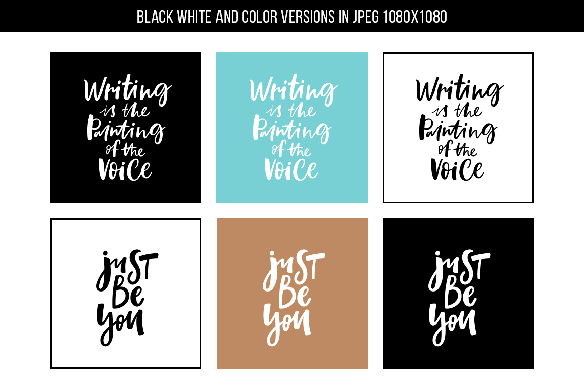 32 Hand-lettered quotes example image 7