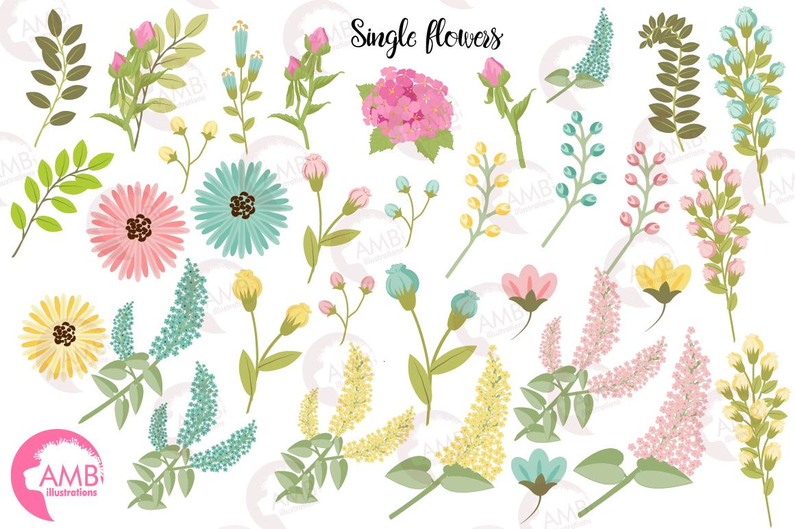 Spring Garden Floral Mega Bundle AMB-2382 example image 5