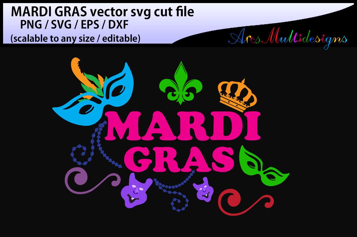 mardi gras svg silhouette / vector mardi gras / SVG  / Png/ mardi gras / silhouette / printable / clipart / DXf / EPs example image 1