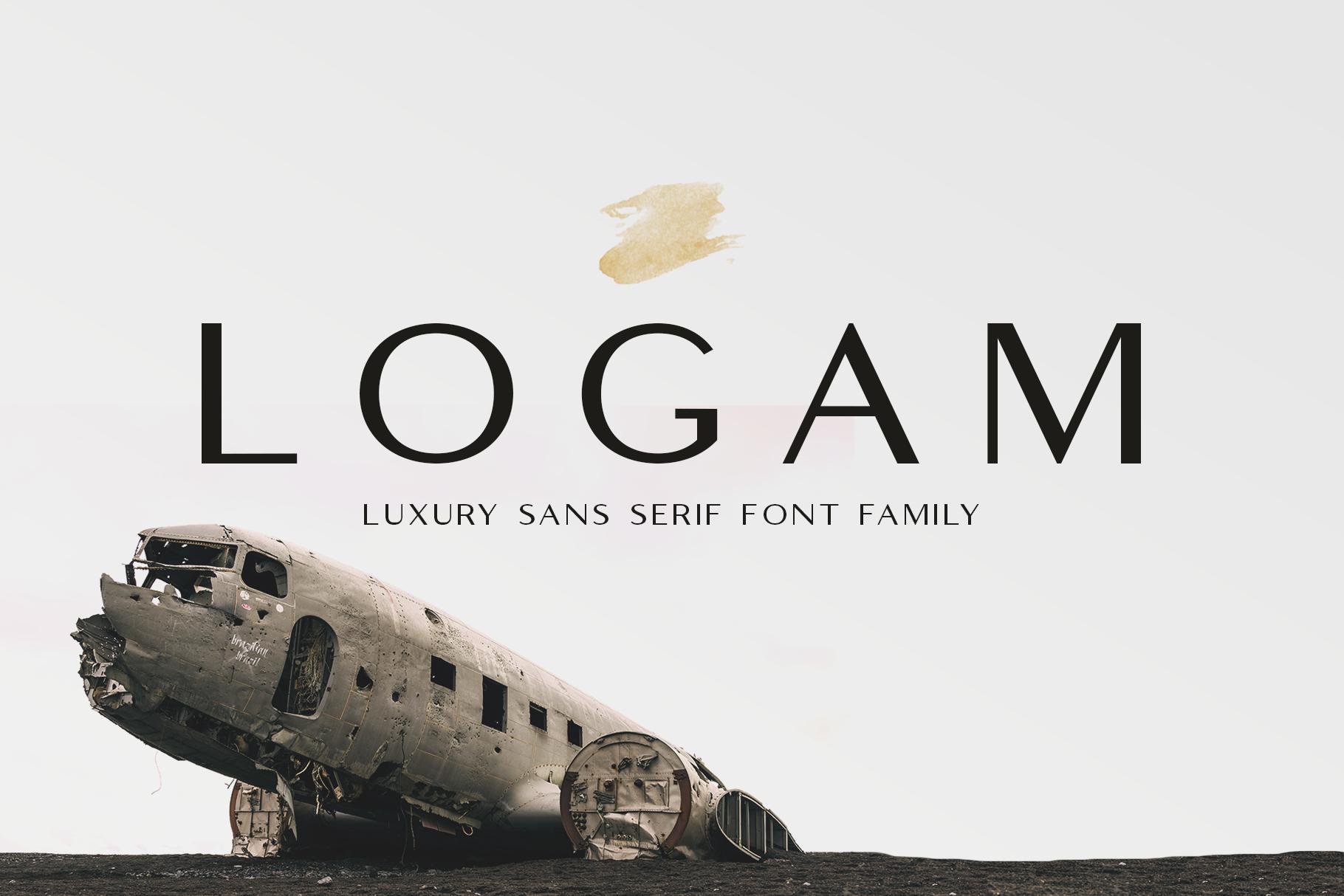 Logam - Luxury Sans Serif example image 1