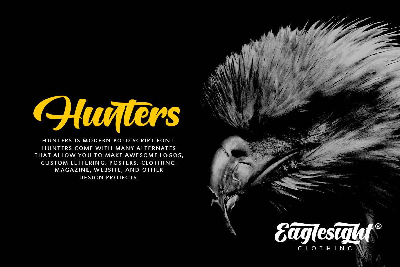 Hunters Script example image 5