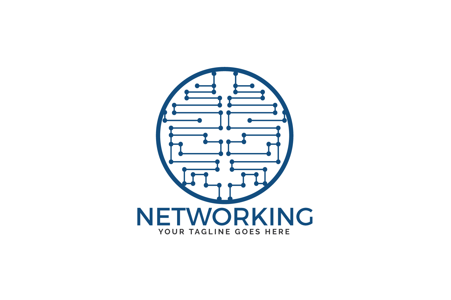 Networking Logo Design. example image 2
