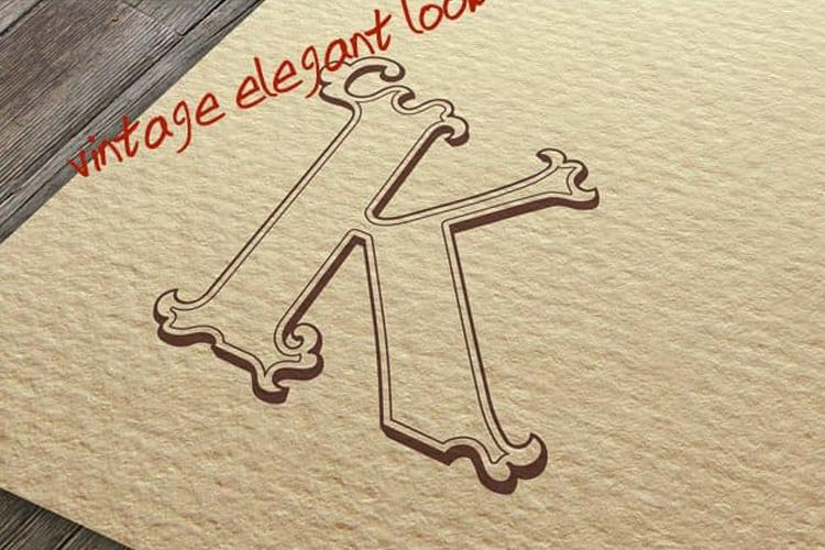 Tatianna   Vintage Font Family example image 13