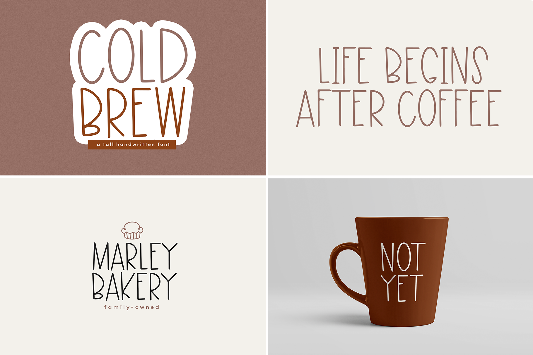 The Coffee Bundle - 6 Fun & Quirky Fonts example image 17