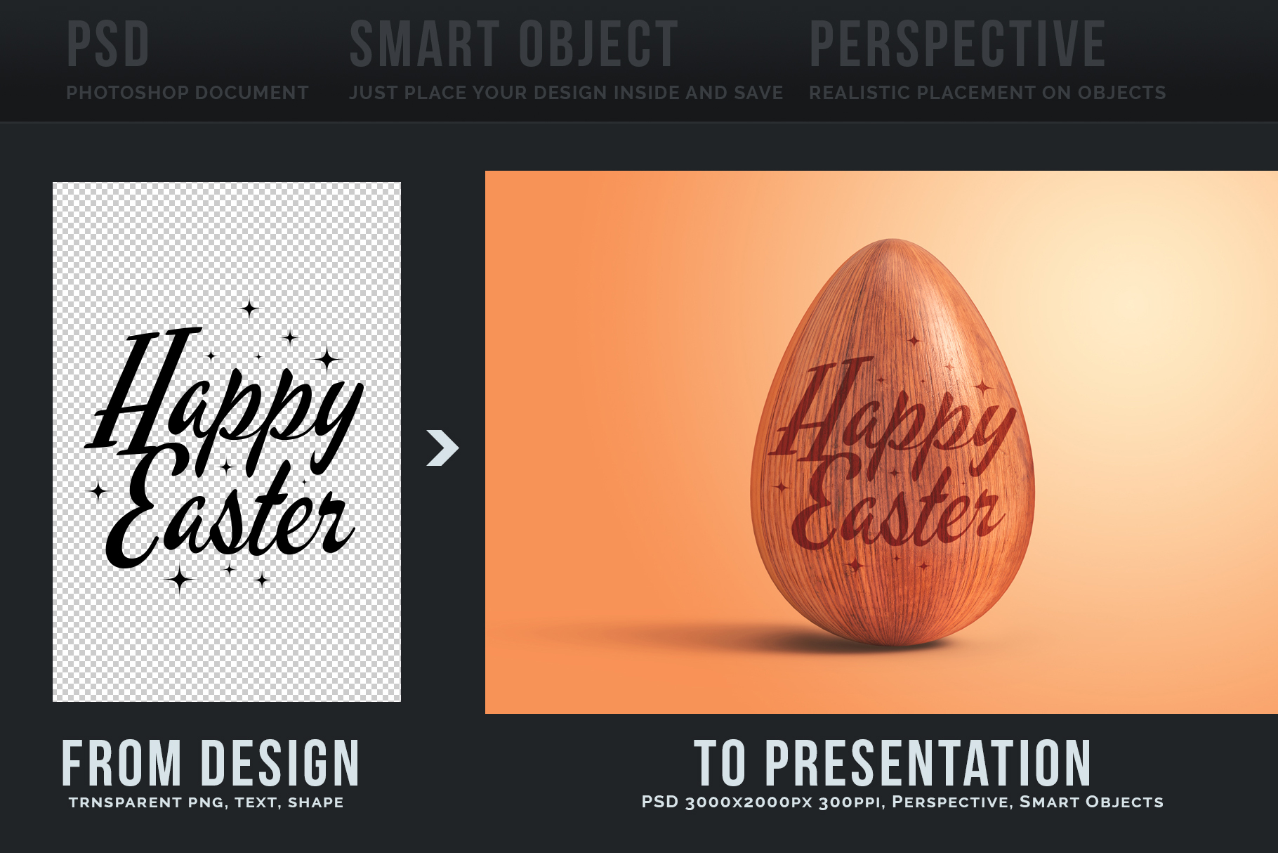 Easter Egg Mockups and Images example image 4