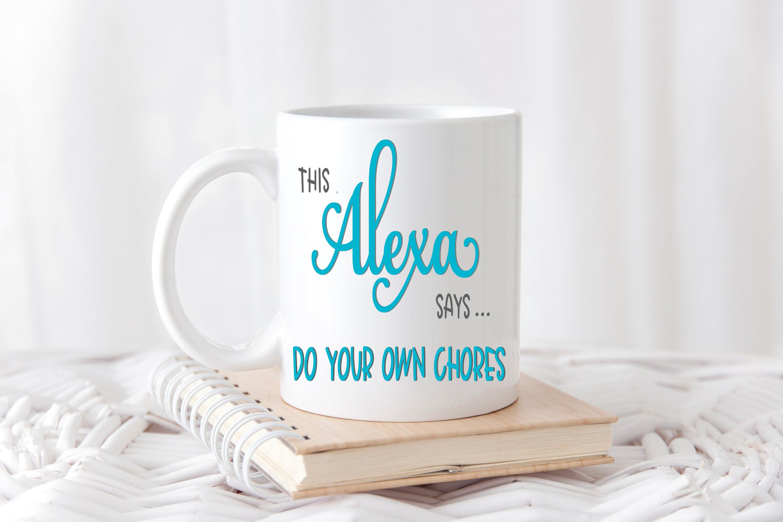 Alexa SVG - Do your own chores example image 2