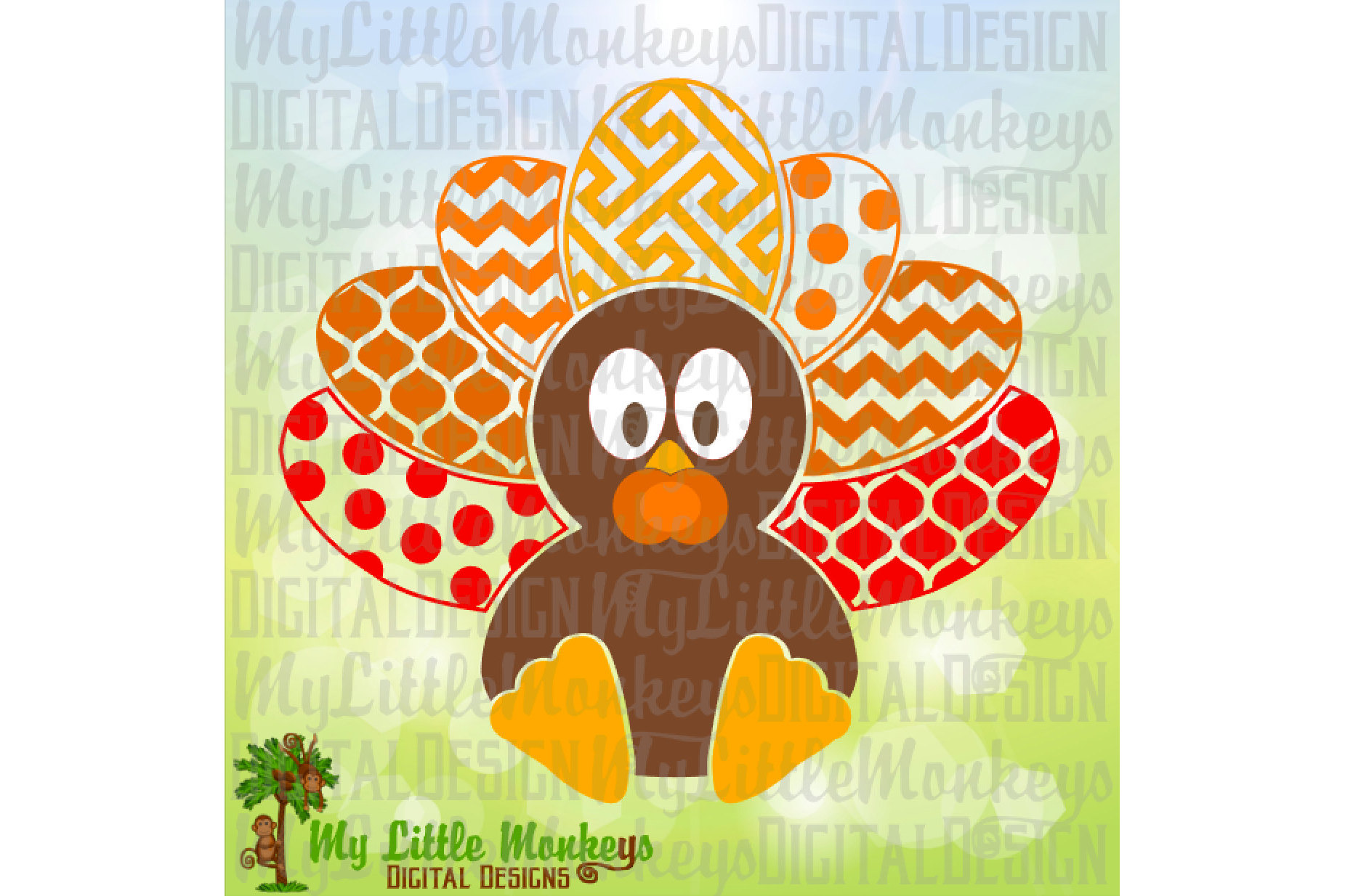 Multipattern Baby Turkey example image 1