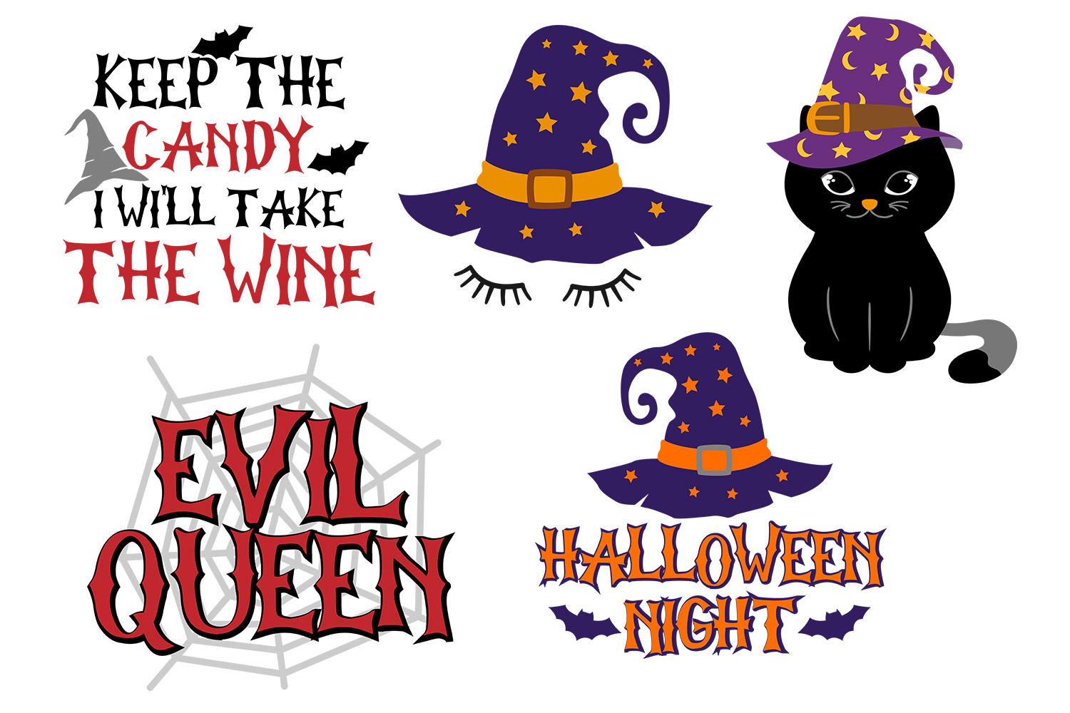 Halloween Mini Bundle - Cut files for crafters example image 1