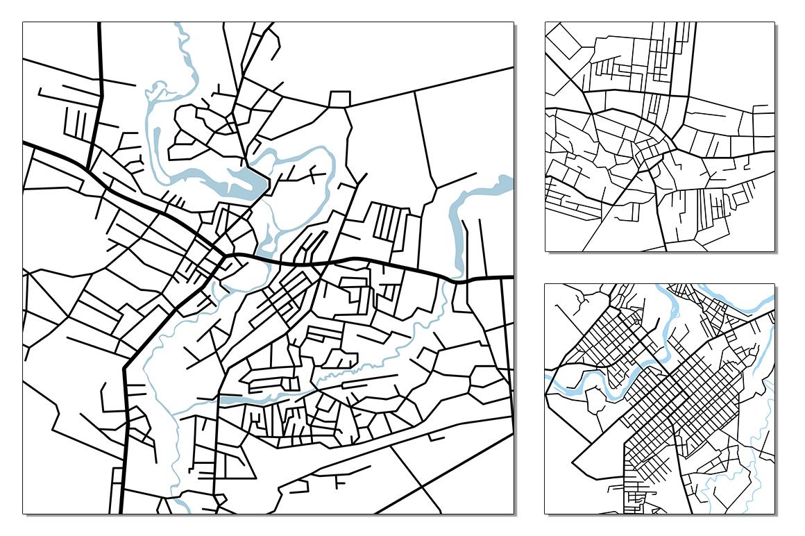 Street maps illustrations example image 8