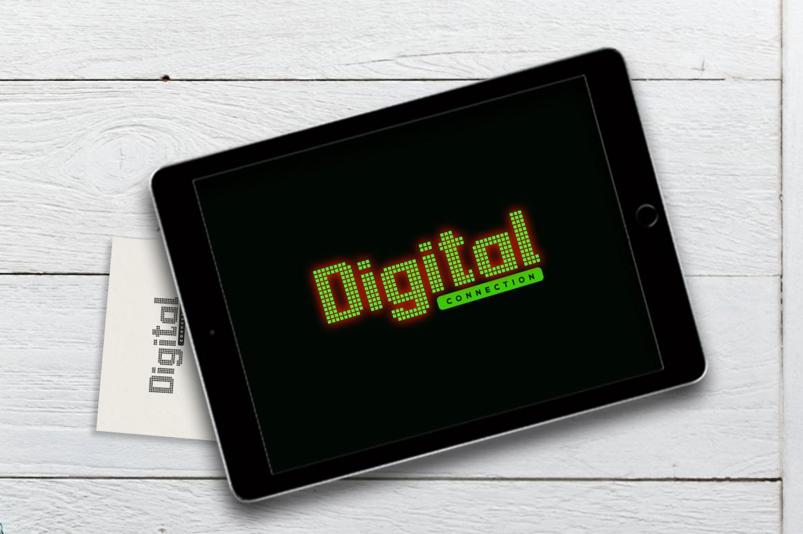 Dotrixfo Font example image 4