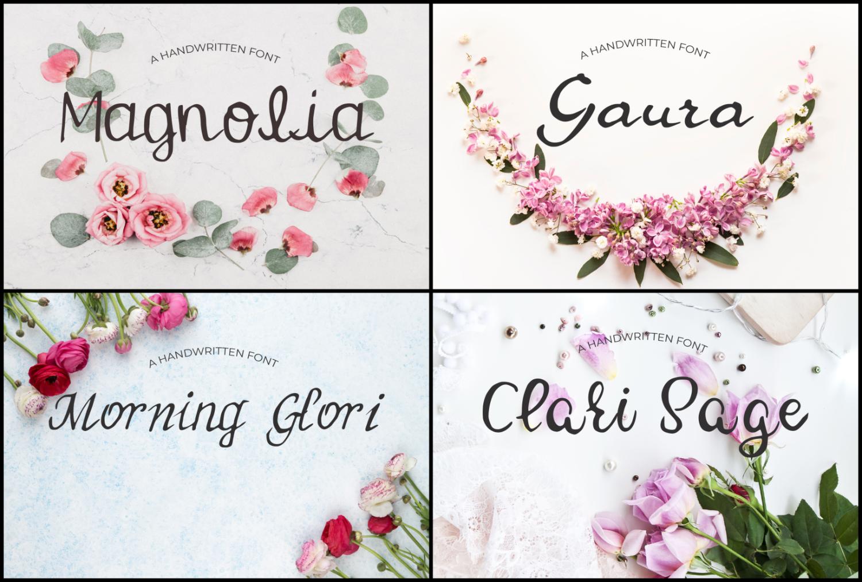 15 Creative Handmade Fonts Bundle example image 4
