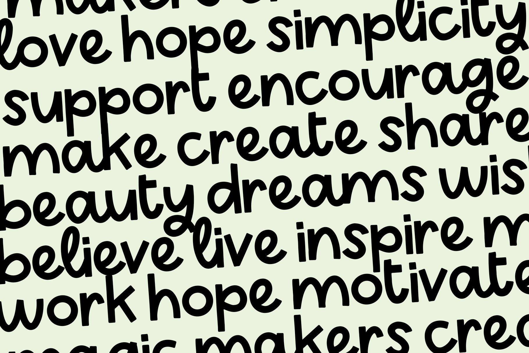 Lucky - A Handwritten Display Font example image 5