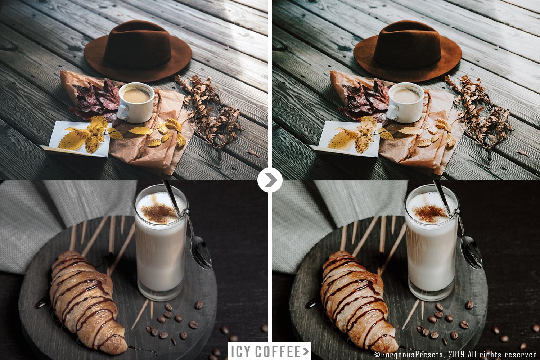 Mobile Lightroom Preset ICY COFFEE example image 4