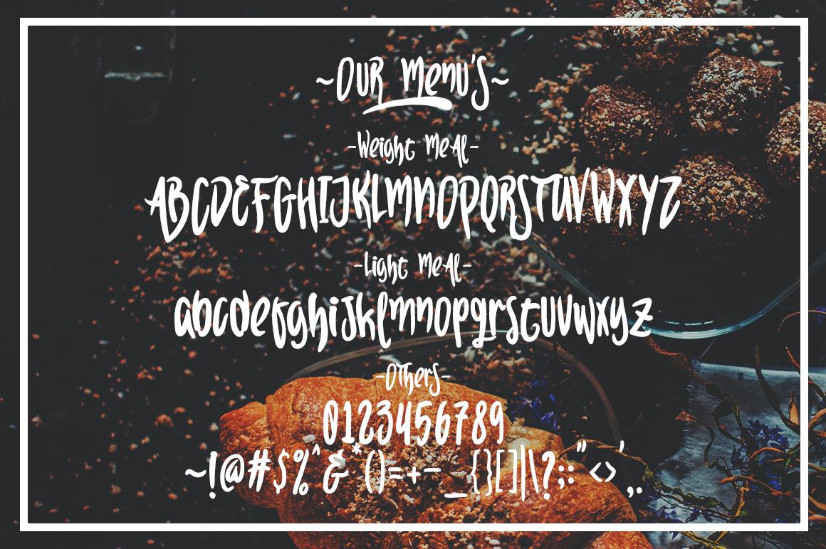 Sekut Typeface example image 5
