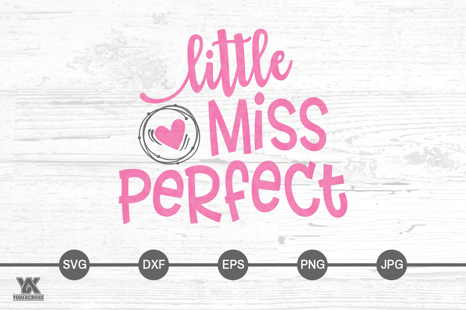 Little Miss Perfect SVG example image 3