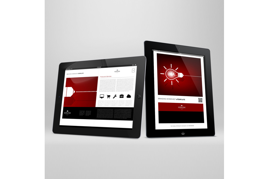 Branding Worksheet eTemplate example image 3