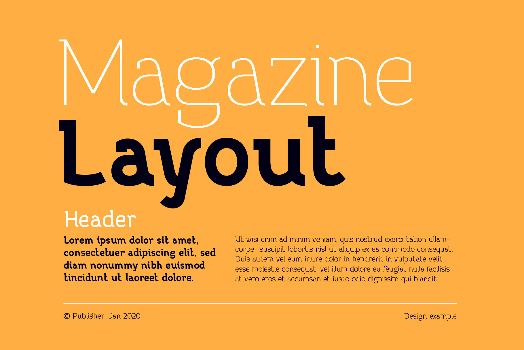 Practish font family example image 6