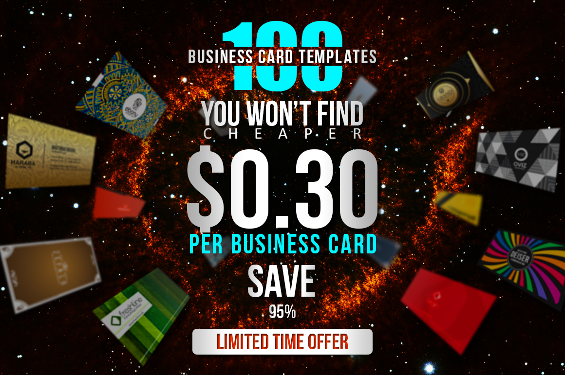 100 Massive Business Card Bundle example image 3