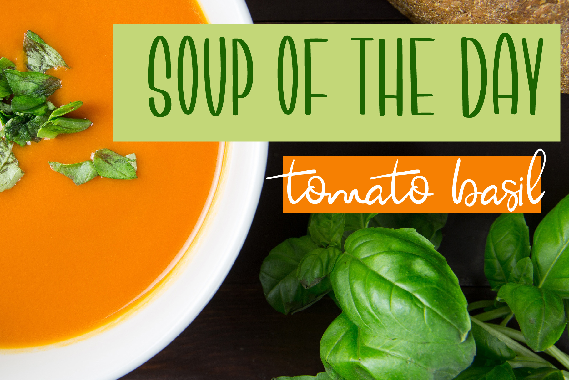 Tomatillo Soup Font Duo example image 4