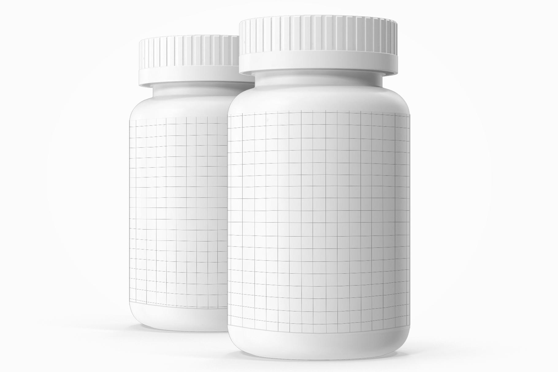 Pills Bottle Vitamin example image 6