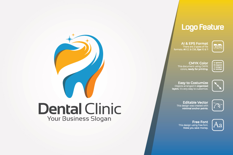 Dental Clinic Logo Template example image 1