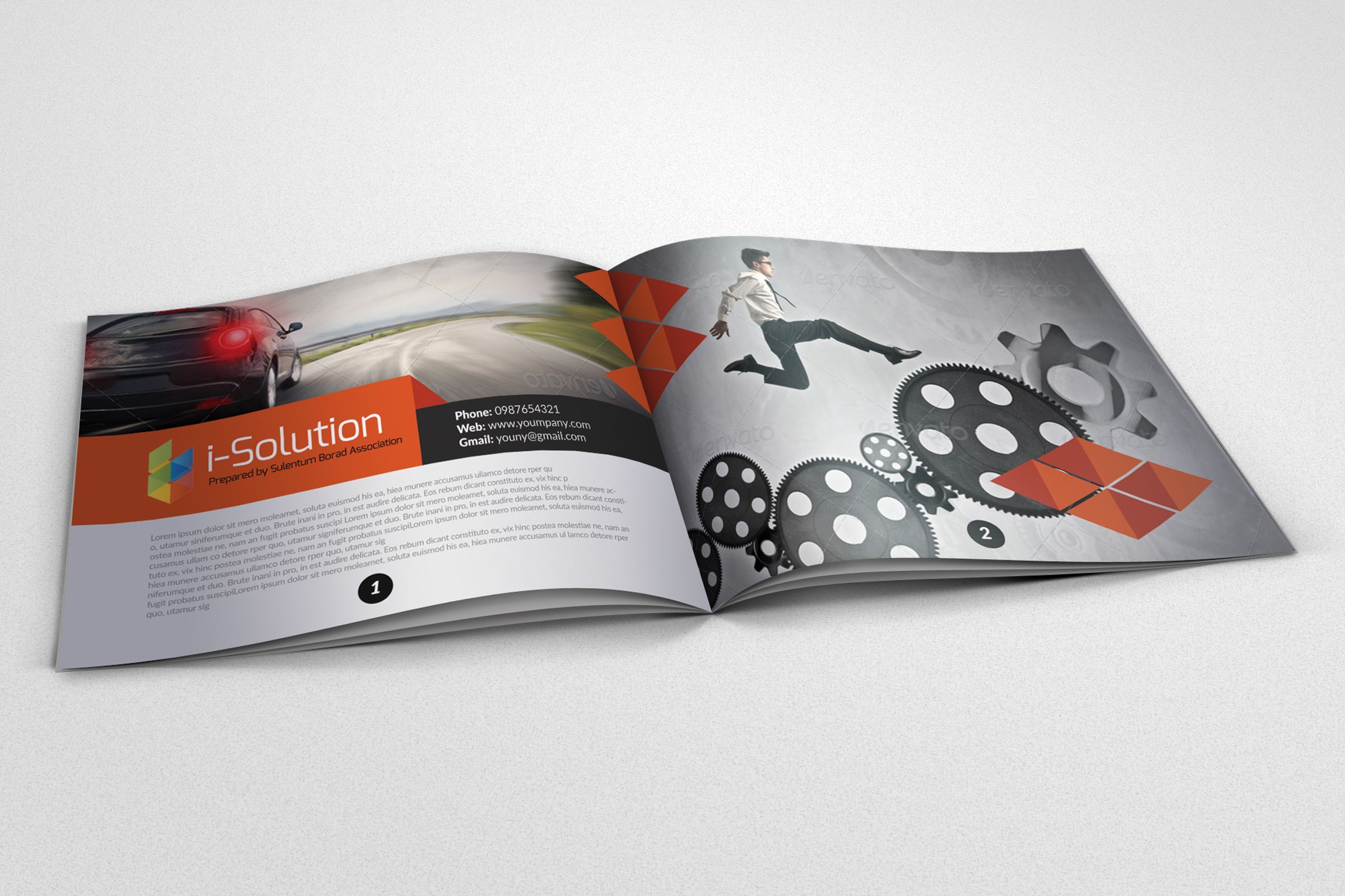 Business Motivation Bifold Brochure example image 1