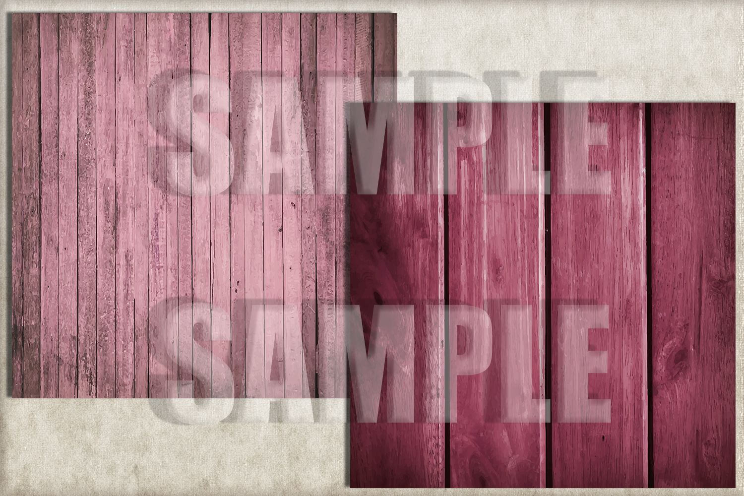 Pink Rustic Wood Digital Paper, Digital Background example image 2